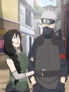 Hanare with Kakashi